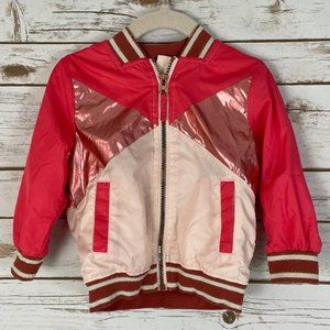 OshKosh Girls Windbreaker Bomber Jacket 18M